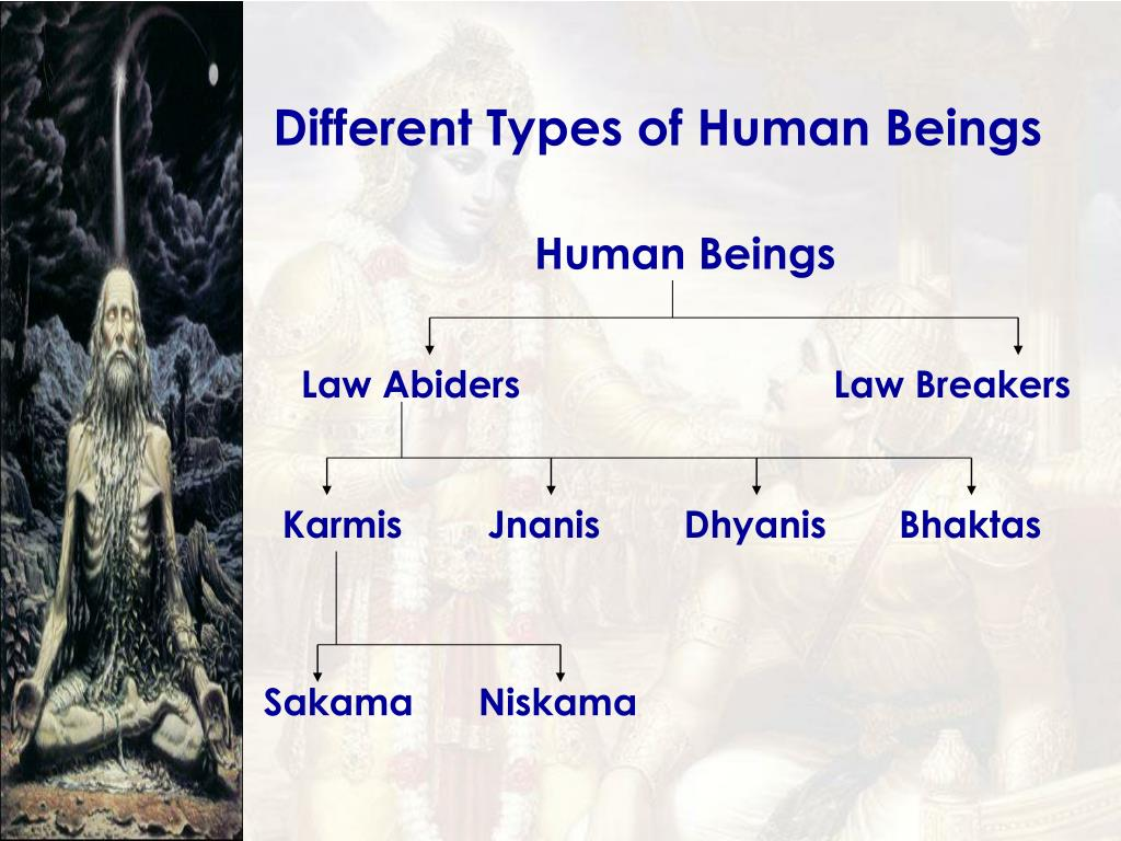 Different Types of Human Beings