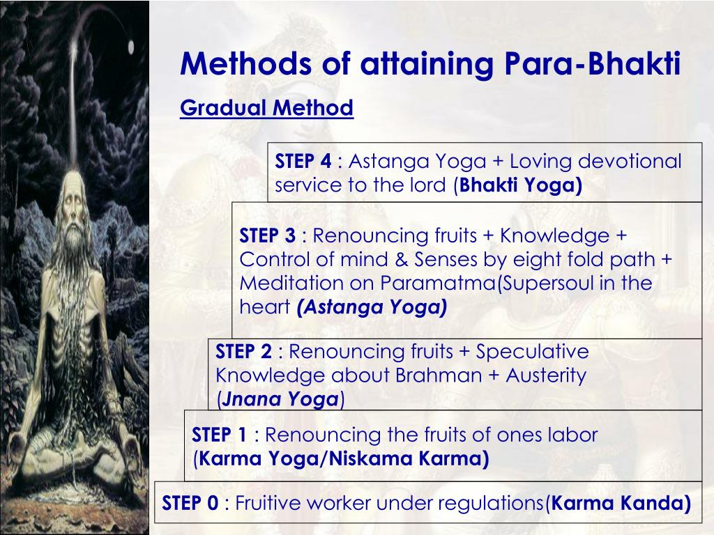Methods of attaining Para-Bhakti