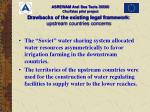 d rawbacks of the existing legal framework upstream countries concerns20