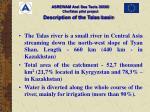 description of the talas basin