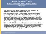 recent tax shelter cases coltec industries inc v united states outcome20