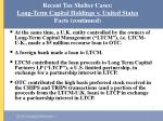 recent tax shelter cases long term capital holdings v united states facts continued