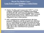 recent tax shelter cases long term capital holdings v united states facts