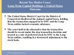 recent tax shelter cases long term capital holdings v united states outcome