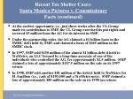 recent tax shelter cases santa monica pictures v commissioner facts continued