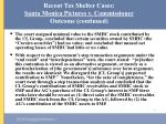 recent tax shelter cases santa monica pictures v commissioner outcome continued35
