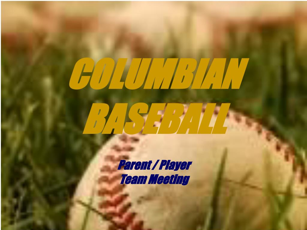 columbian baseball l.