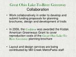 great ohio lake to river greenway collaboration