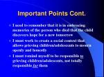 important points cont57