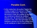 parable cont