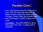 parable cont7