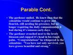 parable cont8
