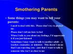 smothering parents