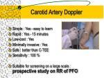 carotid artery doppler
