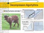 decompression algorhythms12