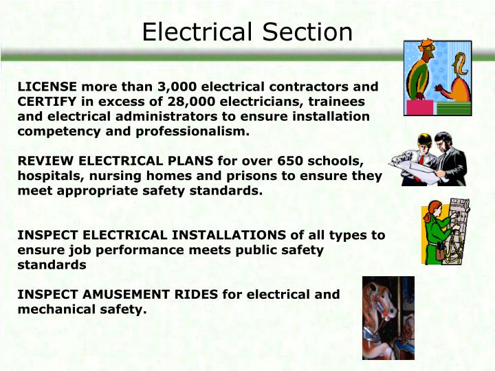 Electrical Section