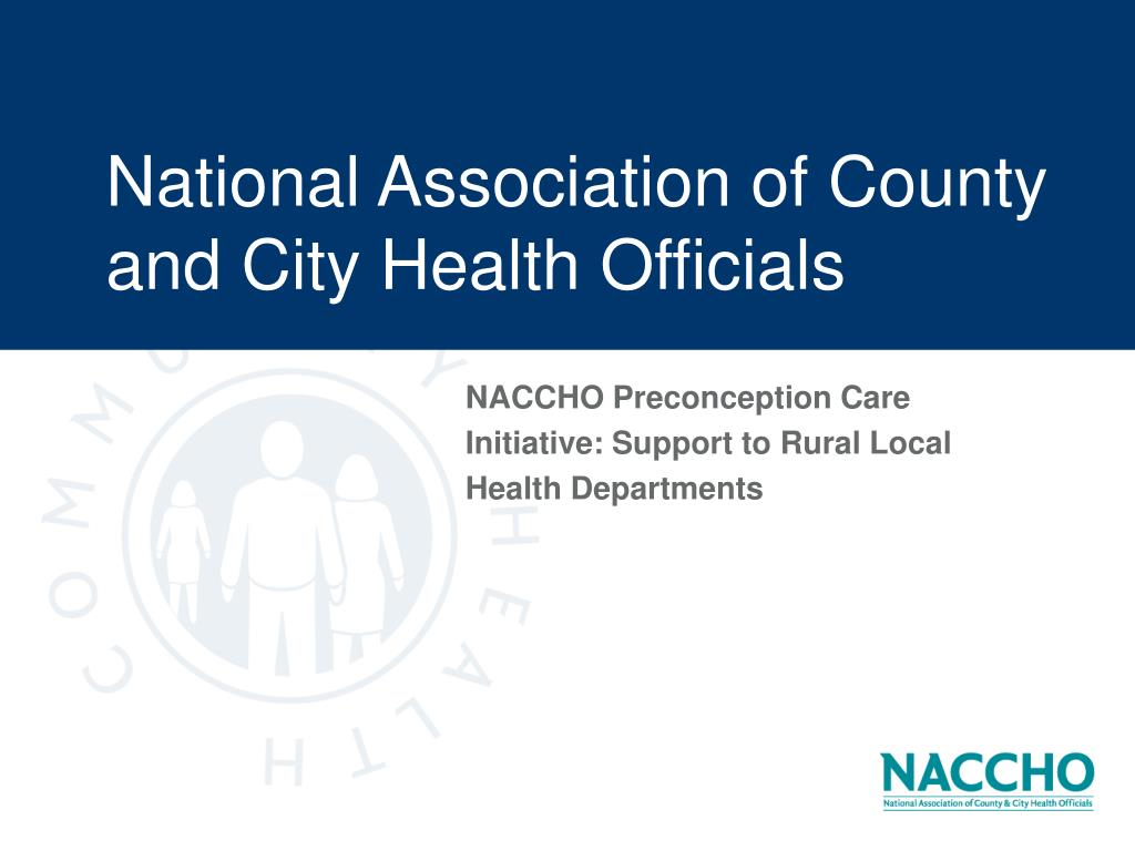 national association of county and city health officials l.