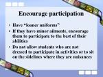 encourage participation14