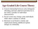 age graded life course theory
