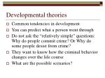 developmental theories5