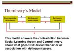 thornberry s model19