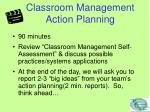classroom management action planning