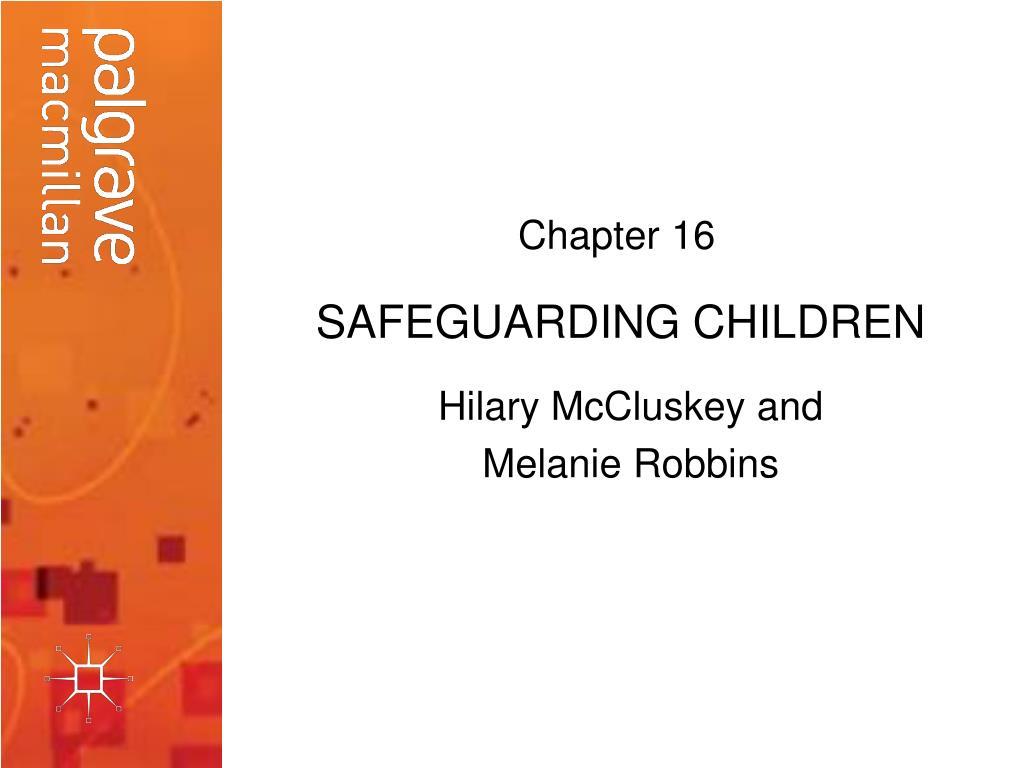 safeguarding children l.