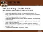 air conditioning control systems2