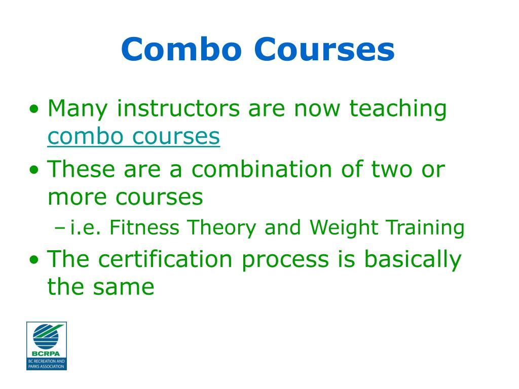 Combo Courses