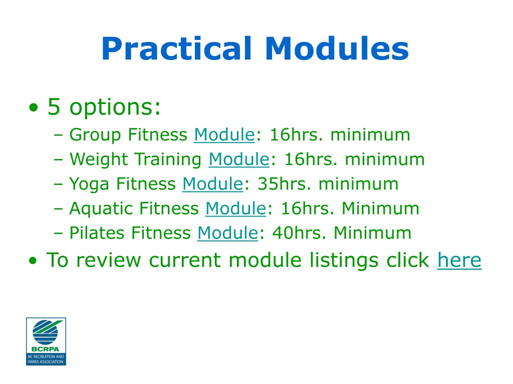 Practical Modules