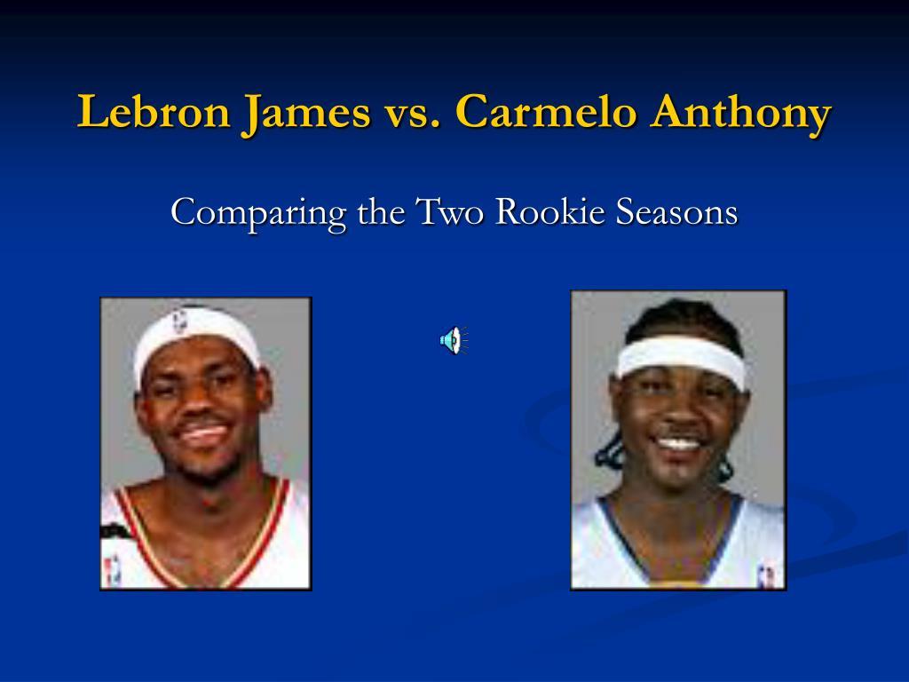 lebron james vs carmelo anthony l.