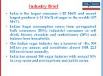 industry brief