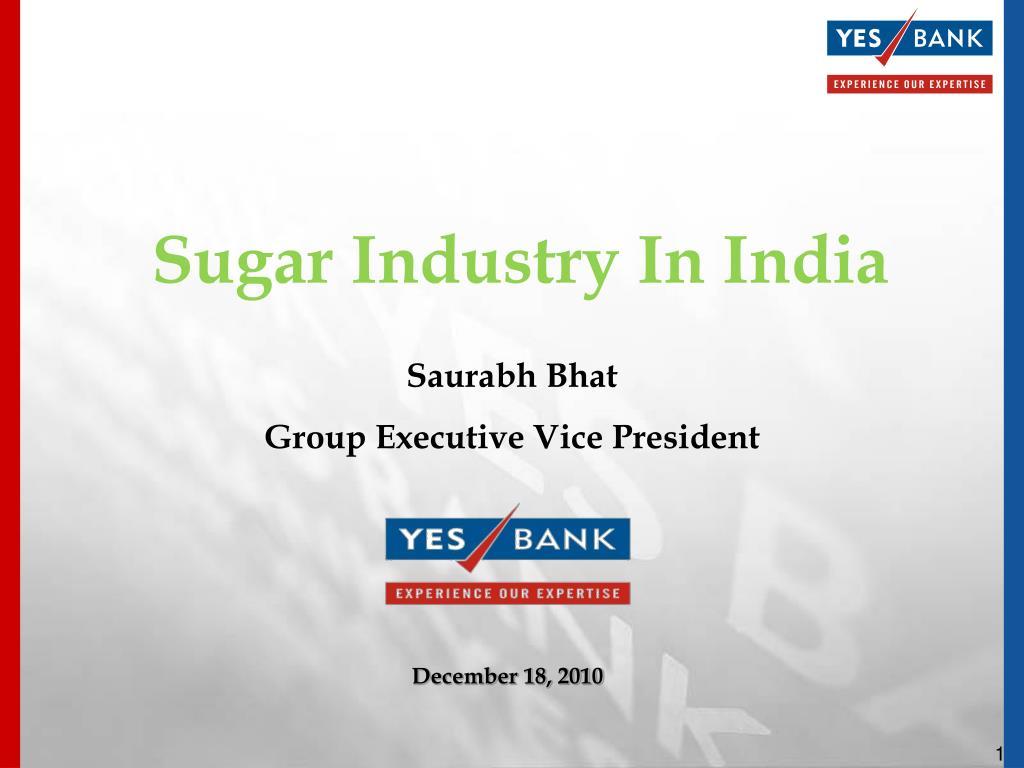 sugar industry in india l.