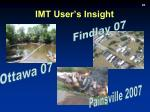 imt user s insight