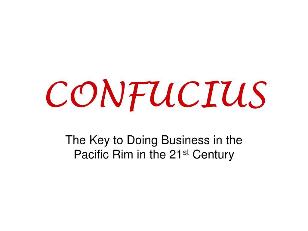 confucius l.
