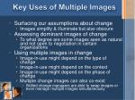 key uses of multiple images