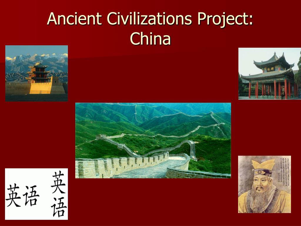 ancient civilizations project china l.