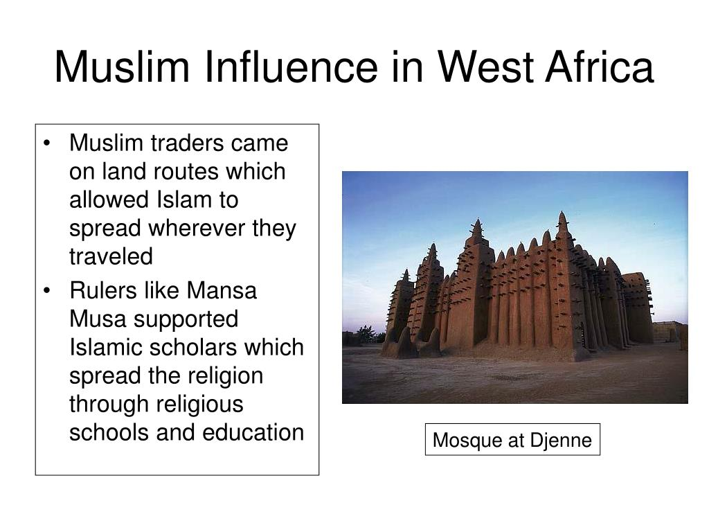 Muslim Influence in West Africa