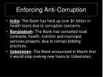 enforcing anti corruption17