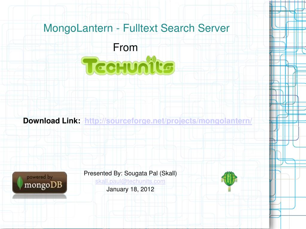 mongolantern fulltext search server l.