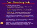 deep shear magnitude