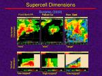 supercell dimensions