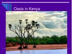 oasis in kenya