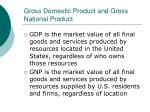 gross domestic product and gross national product56