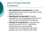 gross private domestic investment29