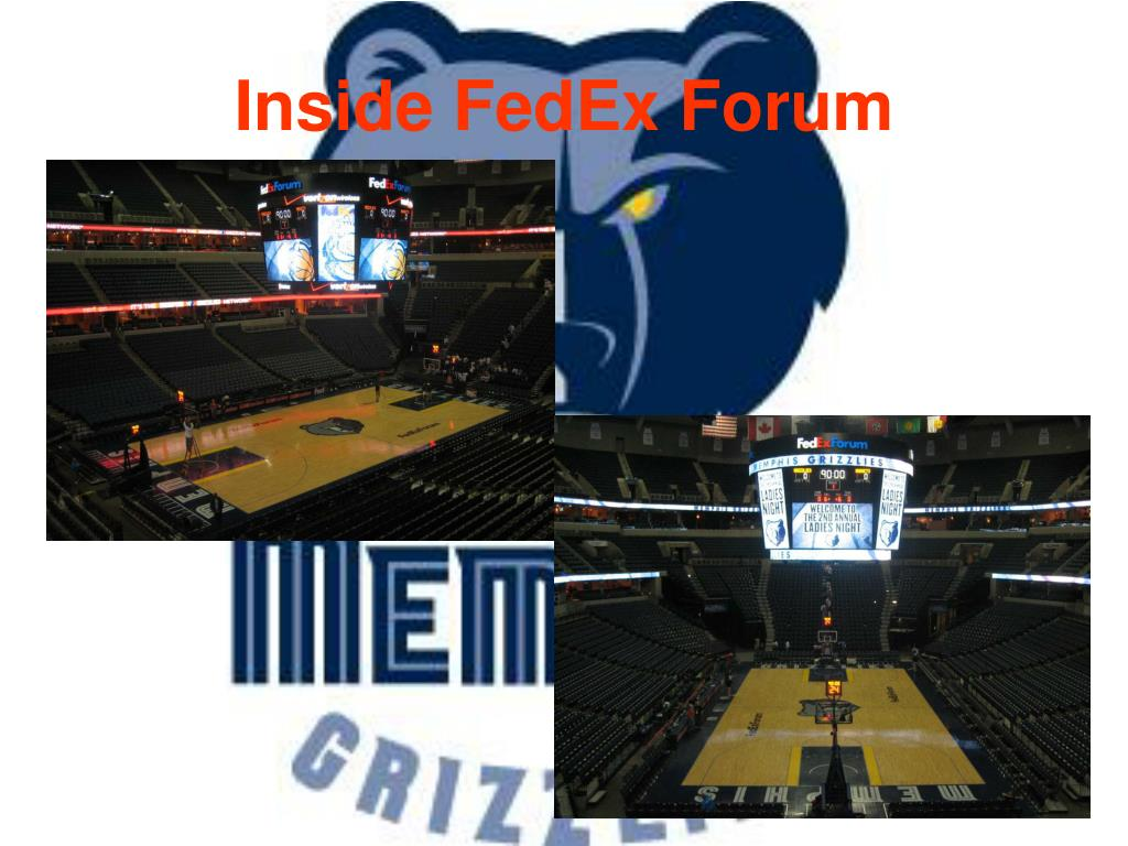 Inside FedEx Forum