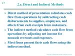 2 a direct and indirect methods