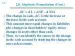 2 b algebraic formulation cont