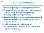 2 c 2 t account worksheet18