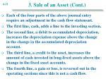 3 sale of an asset cont